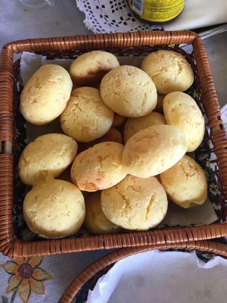 Pães de queijo