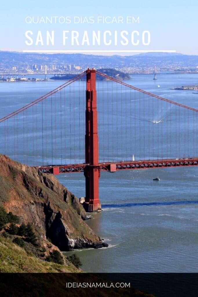 Saiba quantos dias ficar em San Francisco