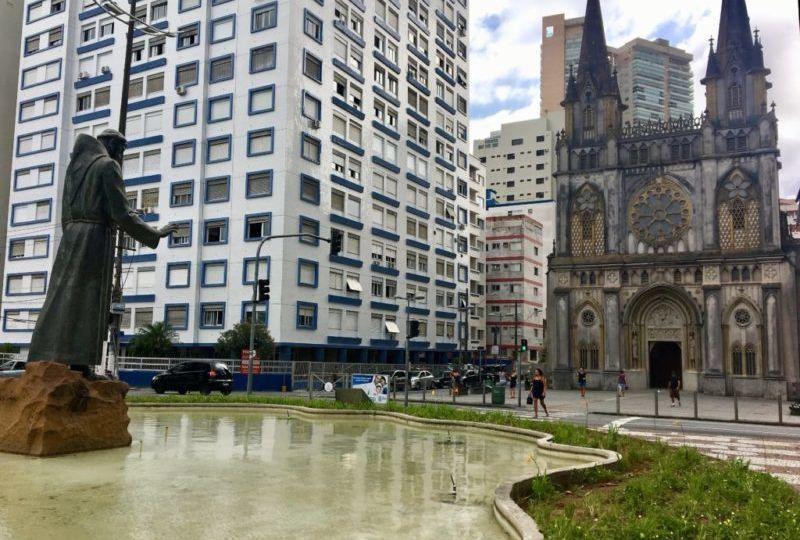 Igreja em Santos