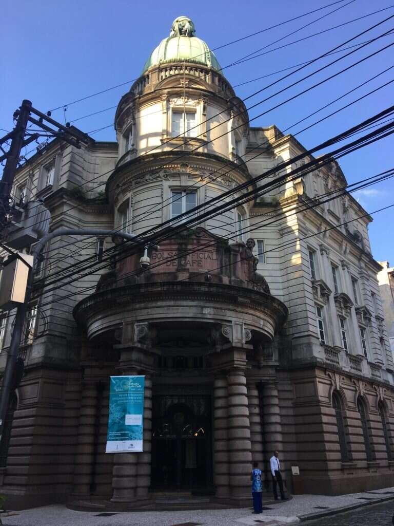 Fachada do Museu do Café