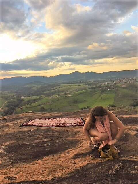 Yoga na pedra