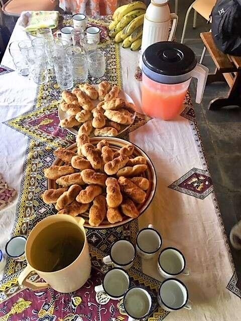 Chá no quilombo dos Marinhos
