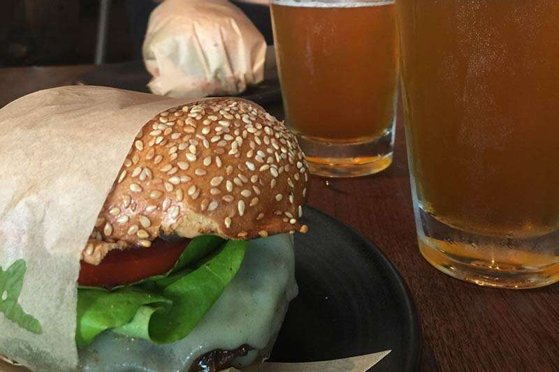 hambúrguer em San Francisco