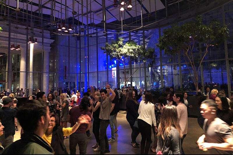 noite no museu em San Francisco