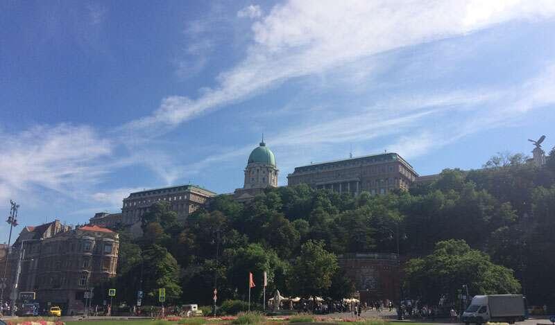 Castelo de Budapeste primeiro item da lista do que fazer na cidade