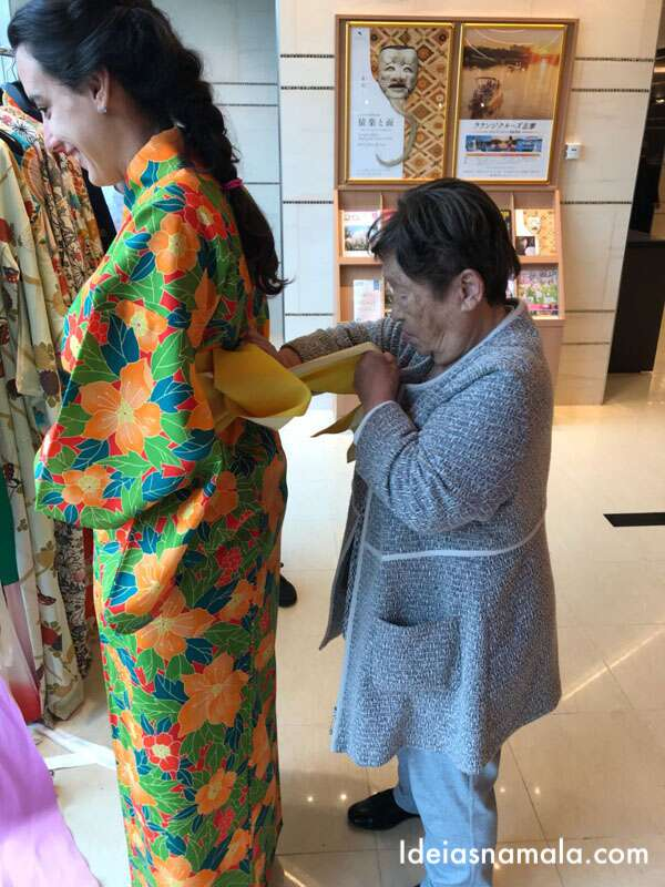 Gentileza japonesa