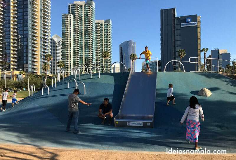 Waterfront Park em San Diego