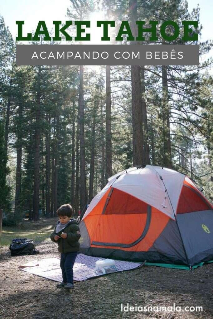 acampamento em Lake Tahoe