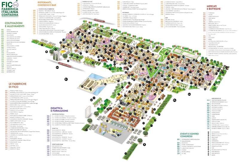 Mapa FICO Eataly