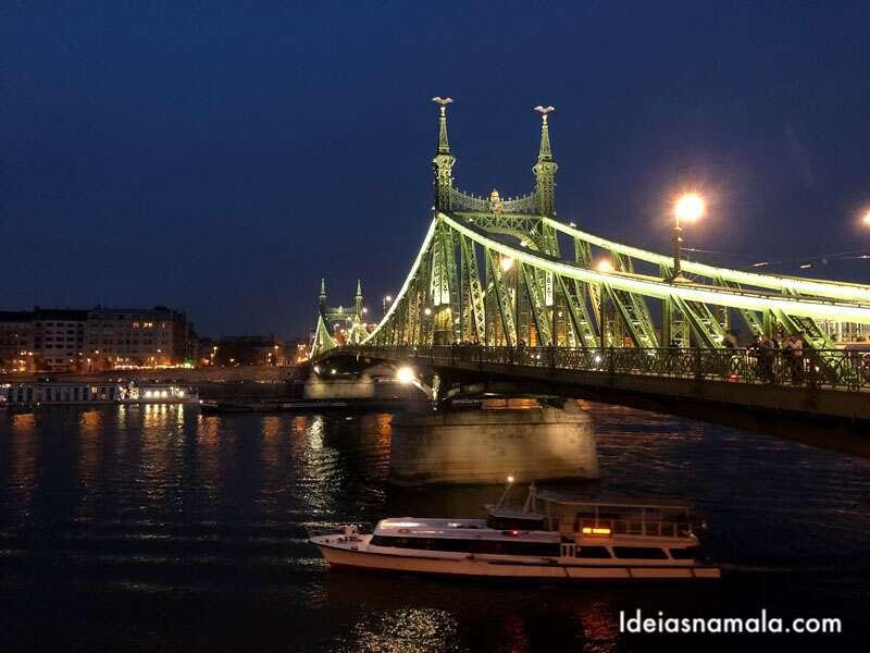 O que fazer em Budapeste - Passear [elasPontes do Rio Danubio