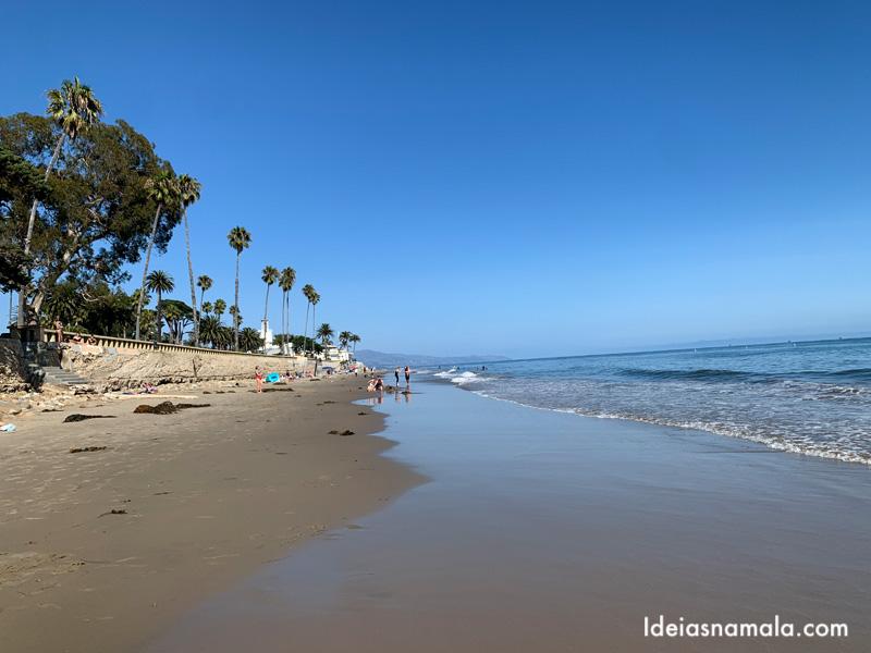 Butterfly Beach, minha praia preferida em Santa Barbara