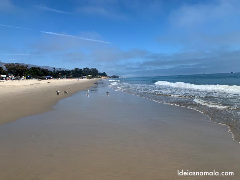 East Beach no centro de Santa Barbara