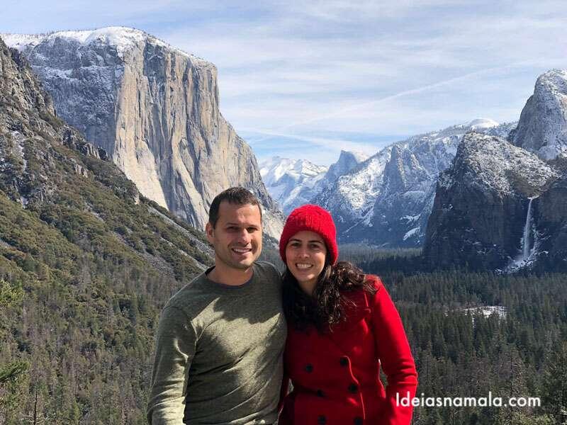 Onde ver neve e esquiar na Califórnia