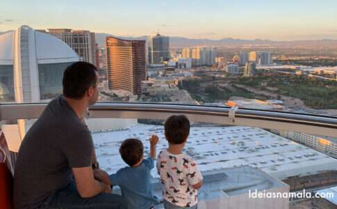 Las Vegas com crianças
