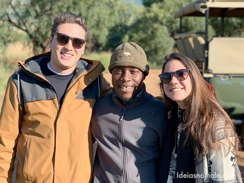 Nosso guia do safari no Pilanesberg Game Reserve
