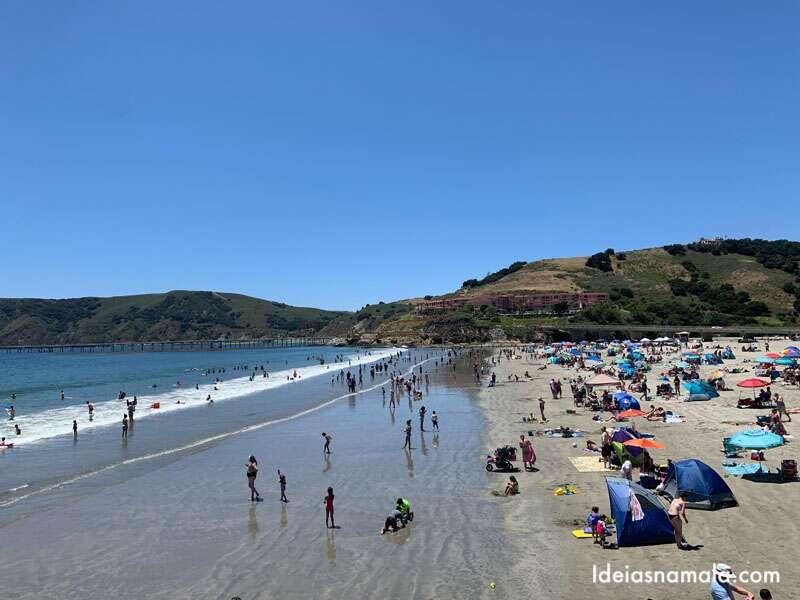Avila Beach Uma Praia Perfeita Para Criancas Na California