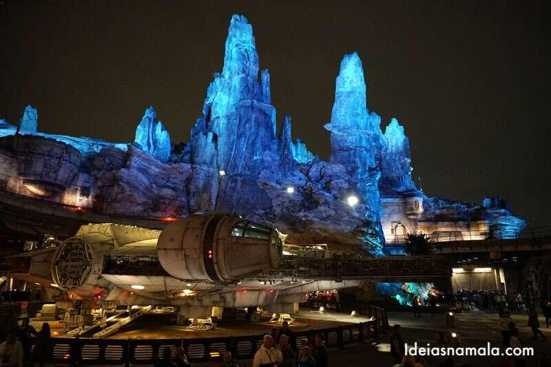 Star Wars galaxys edge na Disneyland