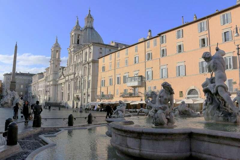 Ruas e Praças de Roma