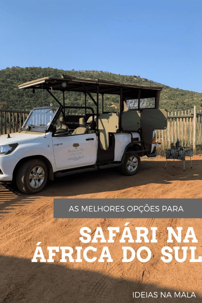 safari na africa do sul
