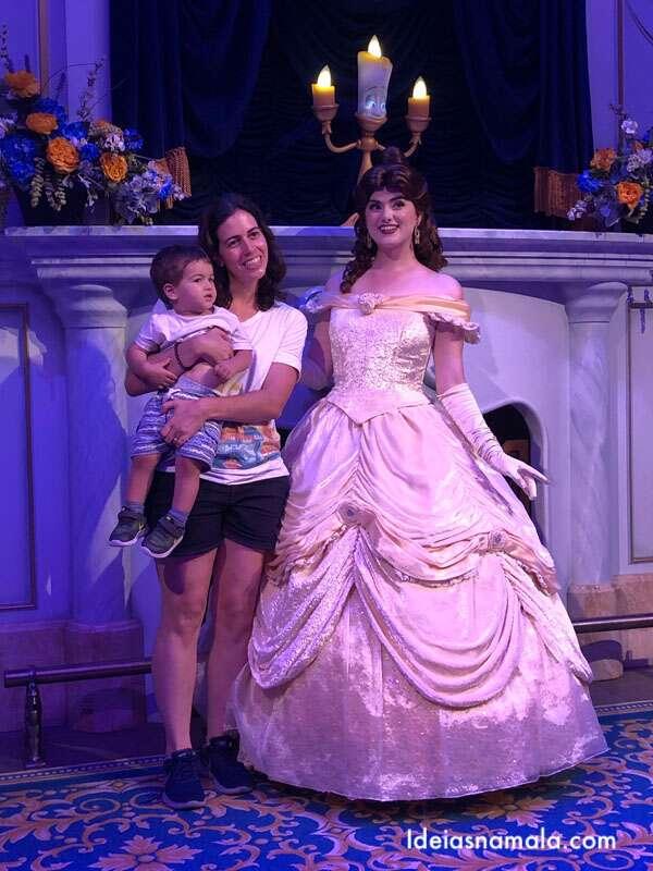 Bella e a Fera na Disney
