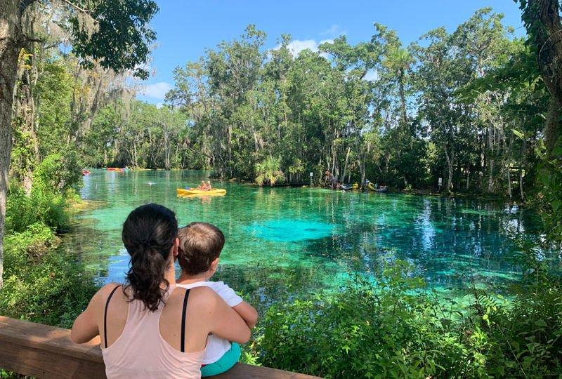 Springs da Florida de motorhome