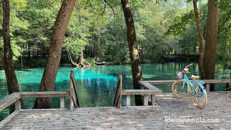 Piscinas naturais da Florida
