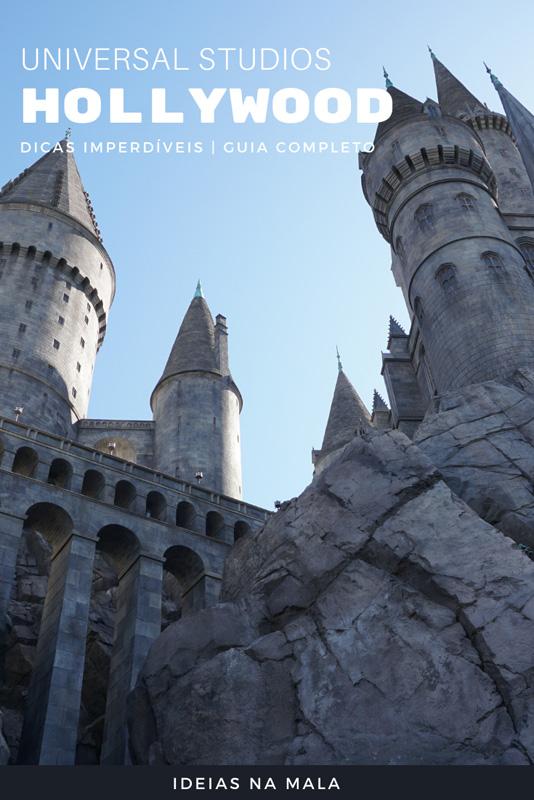 Castelo de Hogwarts um dos destaques do Universal Hollywood