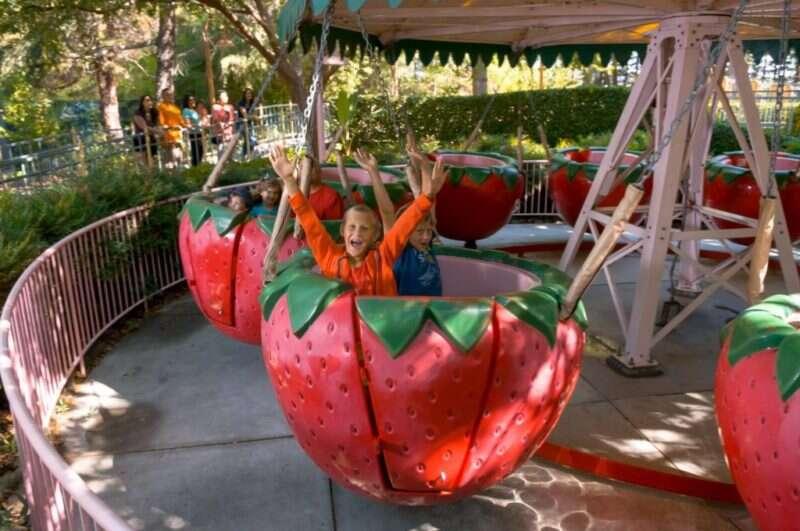 parques de diversão na california