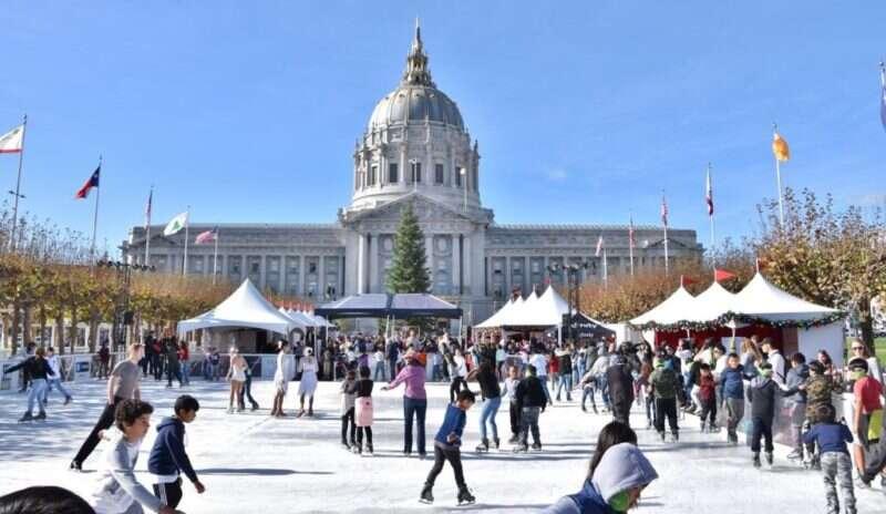 Pista de patinação do Civic Center