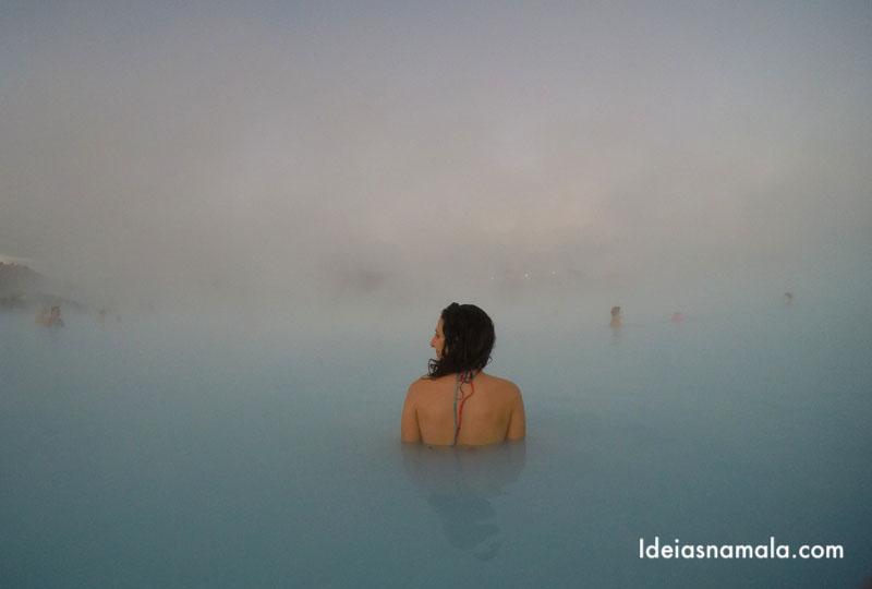 Blue Lagoon a piscina termail mais famosa da Islândia