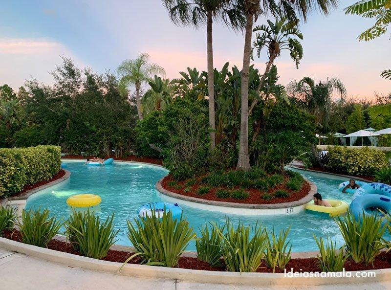 Parque aquático do Hilton Orlando
