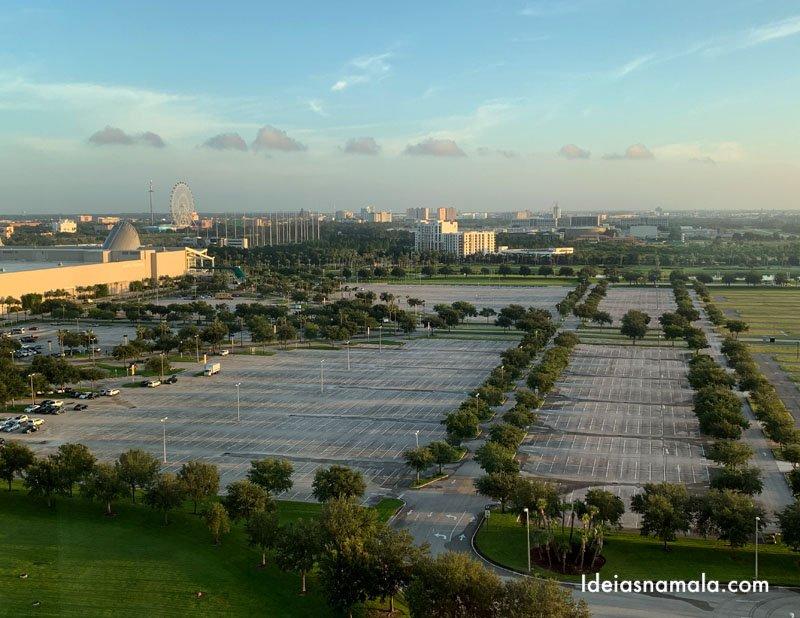 Orlando vista do alto