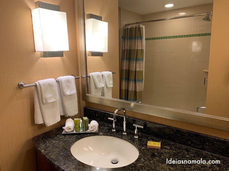 Banheiro do Hilton Orlando