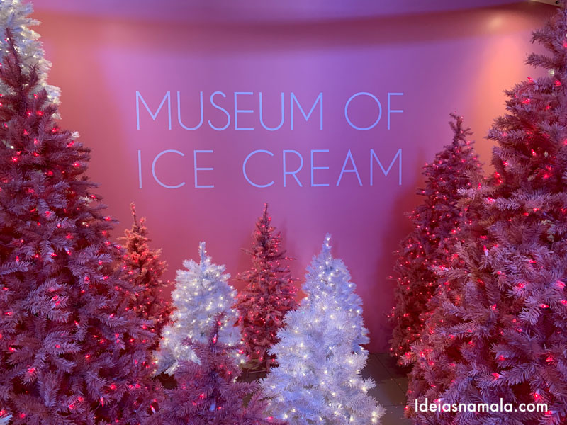 PINKMAS no Museum of Ice Cream