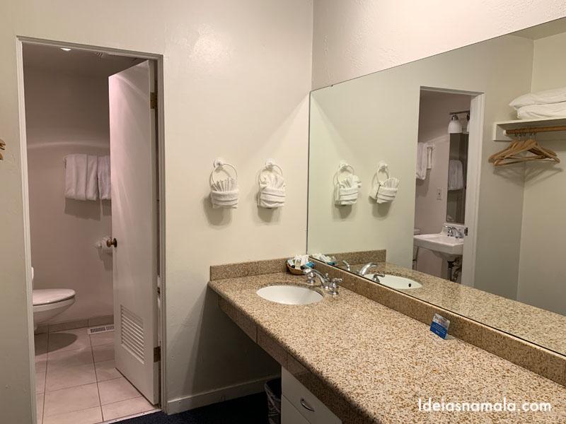 Banheiro do Hofsas House