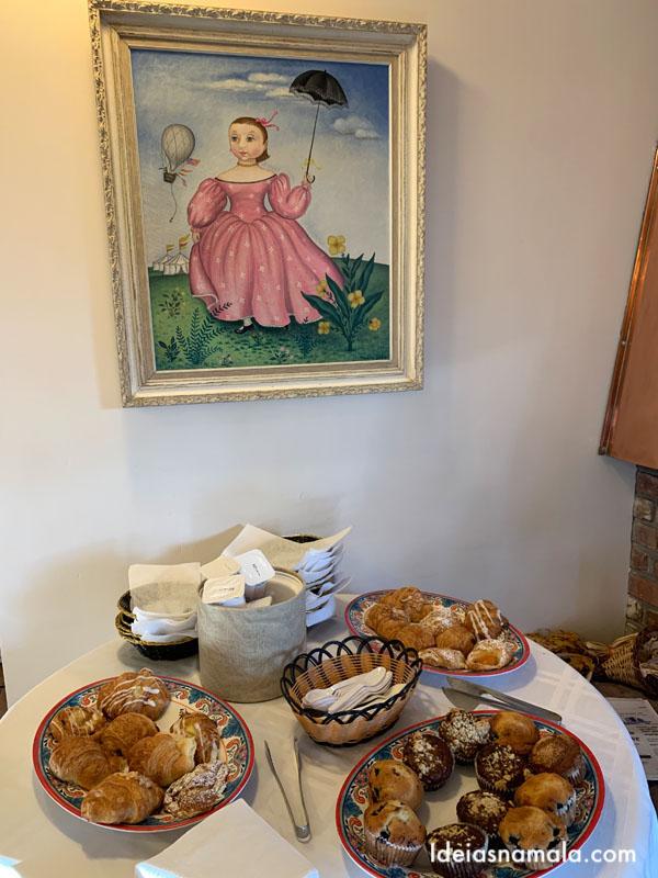 Café da manhã no Hofsas House