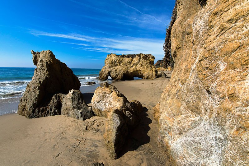 El Matador State Beach em Malibu