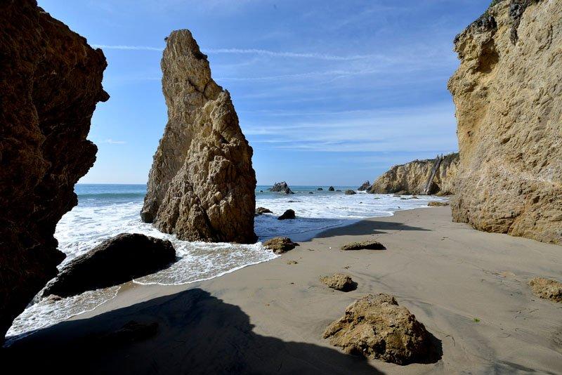 Matador State Beach na Califórnia