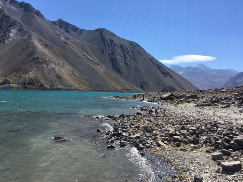 Prainha do Embalse el Yeso