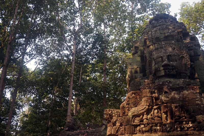 Templo Banteay Srei em Angkor Wat