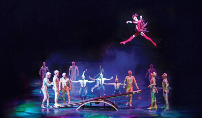 O mais circense dos shows de Vegas: Mystère do Cirque du Soleil