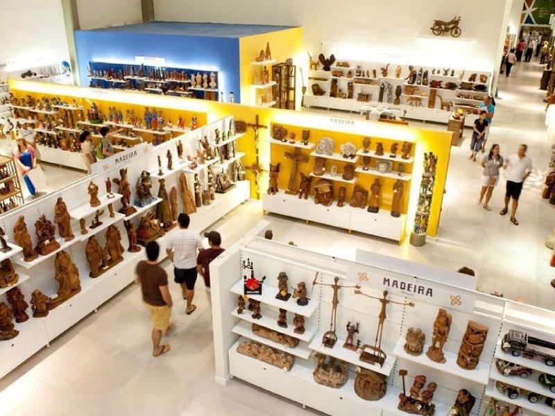Centro de Artesanato Recife por dentro