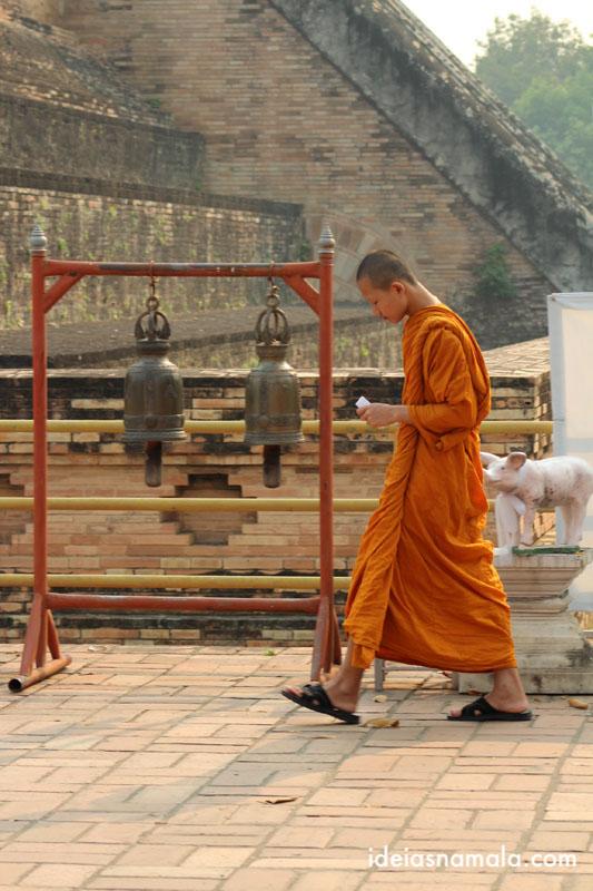 Interagir com Monges em O que fazer em Chiang Mai