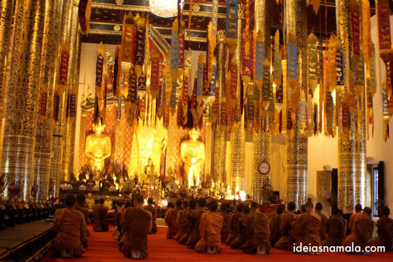 templo Chedid Luang em Chiang Mai