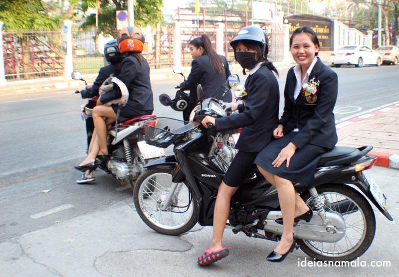 Passeio pelo centro de Chiang Mai