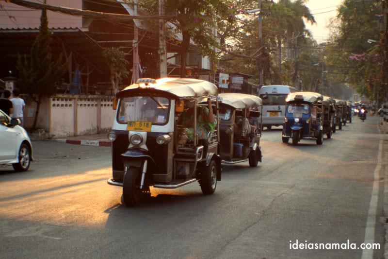tuk tuk em o que fazer em Chiang Mai