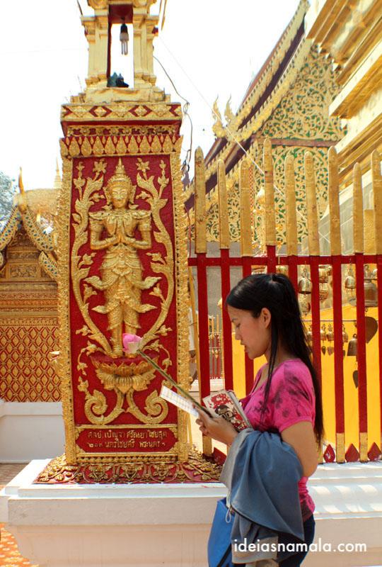 Templo Doi Sutep em o que fazer em Chiang Mai