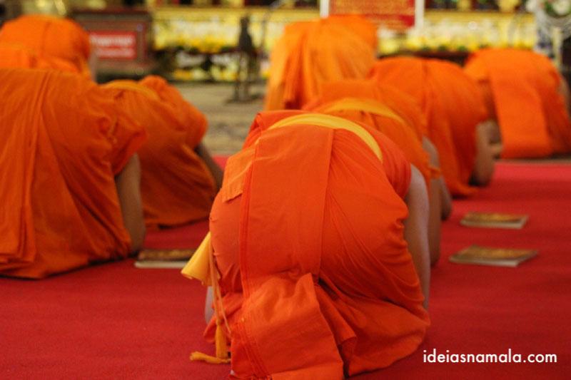 Wat Pra Singh, um dos destaques de Chiang Mai