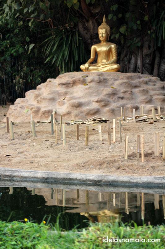 templo Wat Pan Thao em Chiang Mai na Tailandia