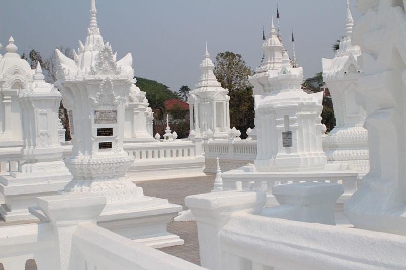 Templo Wat Suan Dok em Chiang Mai